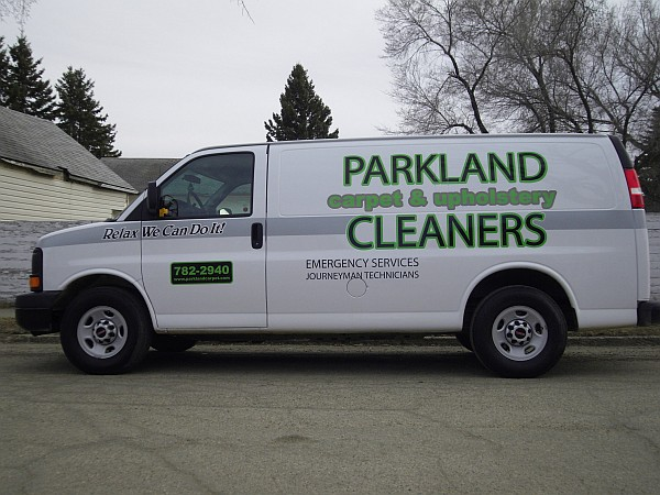 Yorkton Professional Carpet Cleaners Van